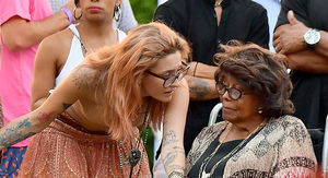 Paris Jackson Performs as Grandmother Katherine Jackson Cheers Her On