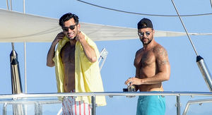 Ricky Martin Hangs Out on a Yacht with Husband Jwan Yosef