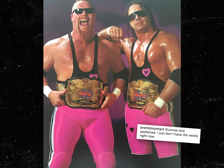 Bret Hart 'Stunned and Saddened' Over Jim Neidhart's Death
