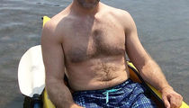 Guess The Grizzly Guy Showin' Off His Dad Bod In This Scruffy Selfie!