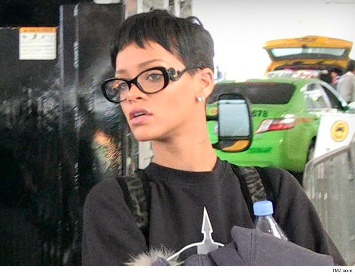 Rihanna's L.A. Home Swarmed by LAPD After Home Alarm Triggered