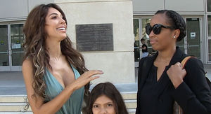 Farrah Abraham Brings Daughter Sophia to Court on Arraignment Day