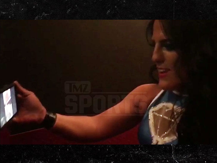 Tessa Blanchard Calls Parents After Winning Impact Knockouts Title