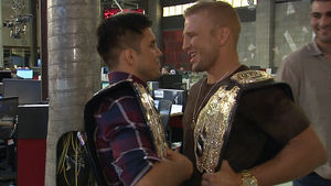 T.J. Dillashaw and Henry Cejudo Clash, Trash Talk In TMZ Newsroom