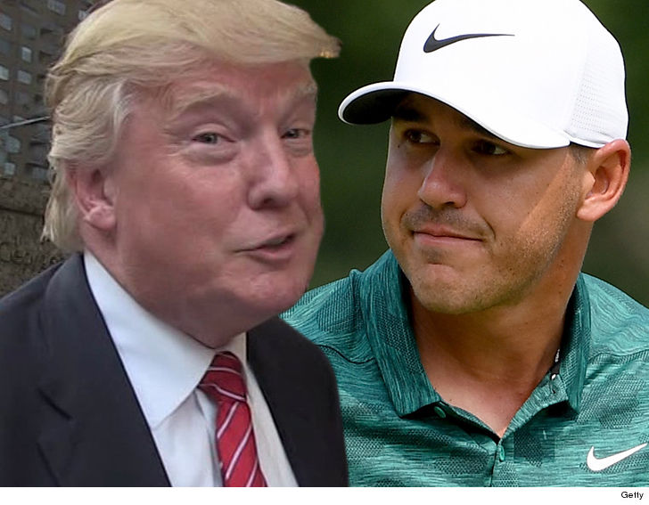Donald Trump ain t mad Brooks Koepka ruined Tiger Woods  great comeback  moment this weekend ... in fact 05318edc286