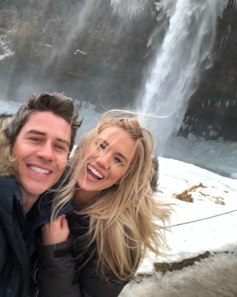 Arie Luyendyk and Lauren Burnham