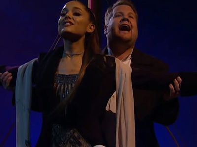Ariana Grande & James Corden Turn 'Titanic' Into an EPIC 13-Song Musical and It's EVERYTHING