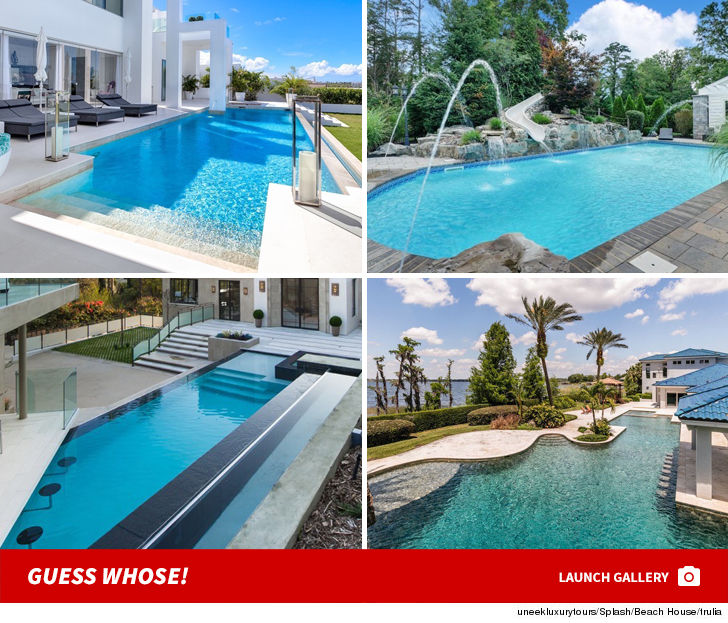 Celebrity Pools -- Guess Whose!
