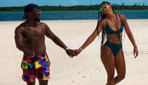 Kevin And Eniko In The Bahamas ... Check Out The Hart's Holiday Photos