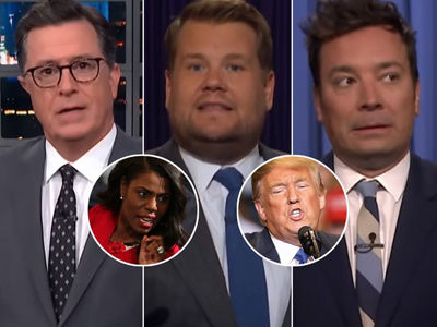 'Wacky' Omarosa's Ongoing Feud With Donald Trump Is All Late-Night TV Can Talk About