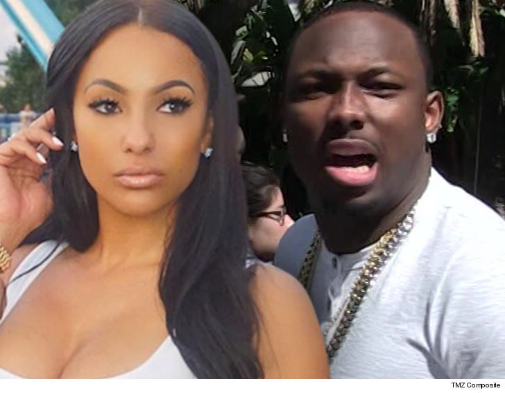 A Judge Has Ordered Lesean Mccoy To Allow His Ex Girlfriend Delicia Cordon Back Into His Georgia Home So She Can Collect Her Belongings As Long As