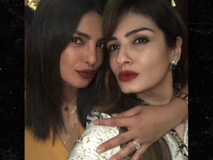 Priyanka Chopra Flashes Nick Jonas' Engagement Ring for First Time