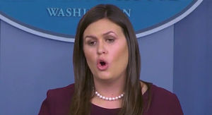 Sarah Huckabee Sanders Won't Guarantee Trump Didn't Say N-Word on Tape