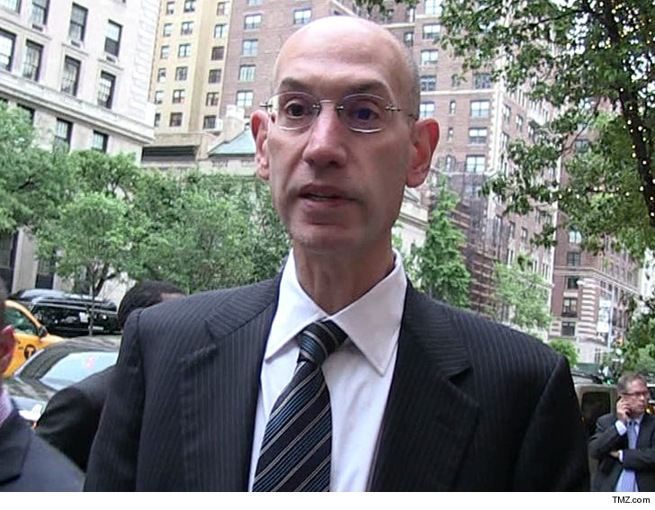 NBA Commish Adam Silver Lets Death Threat Sender Slide, Charges Dropped