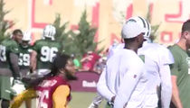 Terrelle Pryor Punked Badly By Ex-Teammate At Redskins-Jets Joint Practice