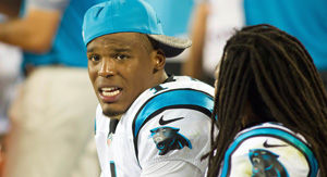 Cam Newton Totally Was Calling Out Kelvin Benjamin In This Twitter Video