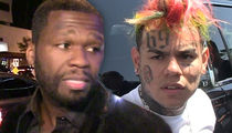 Gunfire on 50 Cent and Tekashi69's Music Video Set