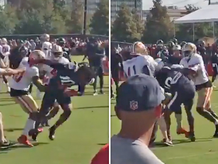 Texans' DeAndre Hopkins gets into scrap with 49ers DB at joint practice