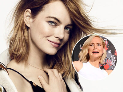 J-Law Interviewed Emma Stone for Elle and It's EVERYTHING -- See the LOL Moments!