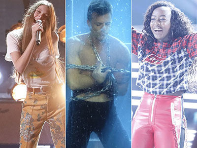 'America's Got Talent' Goes Live as Young Janis Joplin, Courtney Hadwin, Steals the Show