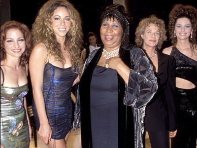 Mariah Carey Shares POWERFUL Tribute to Aretha -- ALL the 'Divas' React to Her Death