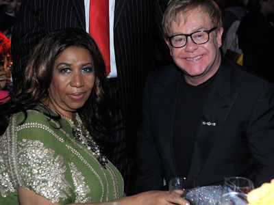 See Elton John's Powerful Tribute to Aretha Franklin: 'The Queen Is Dead, Long Live the Queen'
