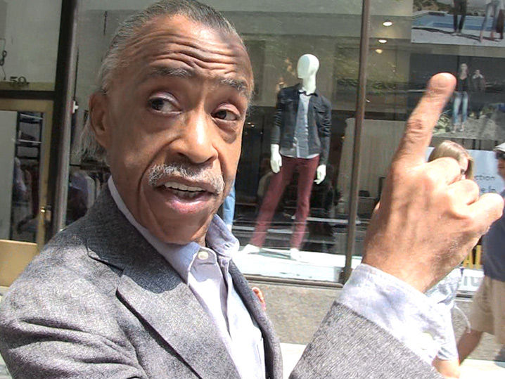 Al Sharpton Says Trump Needs Aretha Franklin's 'Respect' in His Life