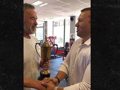 Arnold Schwarzenegger Reunited With Lost 1969 Mr. Universe Trophy