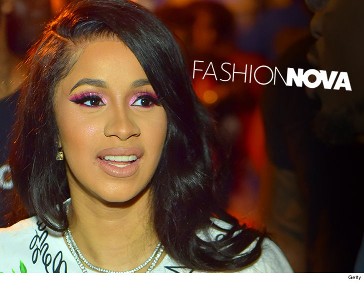 23e56dcee1a Cardi B s got her sights set on taking over the fashion world
