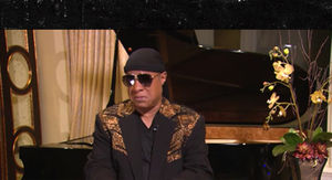 Stevie Wonder Gets Emotional Remembering Last Words to Aretha Franklin