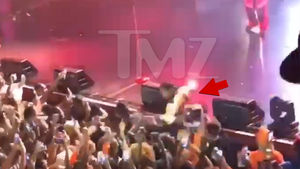 Teyana Taylor Takes Nasty Fall Off Stage at NYC Concert