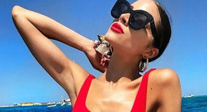 Olivia Culpo Unveiled Her Tiny Red Hot Bikini While Enjoying The Steamy Summer Season