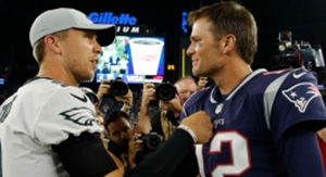 Handshake-Gate? Do Tom Brady& Nick Foles Still Have Beef After Super Bowl Snub?