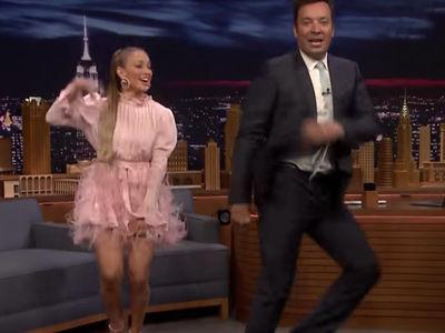 J.Lo's Fallon Interview INTERRUPTED by Dance Breaks -- Talks A-Rod, Too!