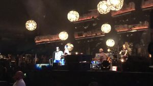 Dennis Rodman Crashes Pearl Jam Set at Wrigley Field to Talk North Korea