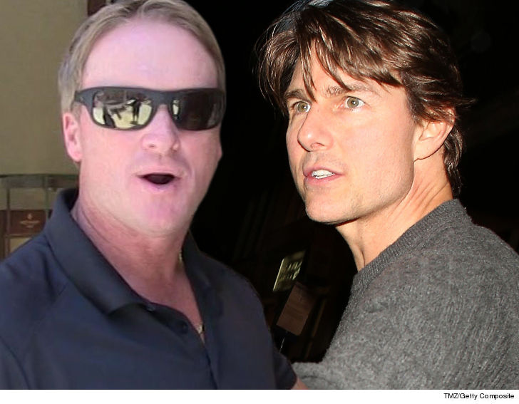 Jon Gruden Insults Tom Cruise ... For No Apparent Reason