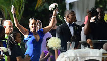 Rihanna Looked Stunning at Her Best Friend's Wedding in Barbados