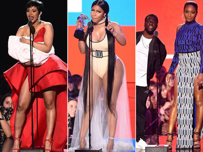 Nicki Minaj CALLS OUT Haddish for Fifth Harmony SHADE, Cardi's Surprise & More VMA Moments!