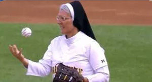 Watch Nun Throw Sick Curveball In Divine First Pitch At White Sox Game