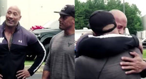 After Dwayne Johnson's Stunt Double Arrived On Set, The Actor Gave Him A Gift That Left Him In…