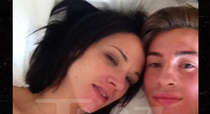 Asia Argento and 17-Year-Old Boy in Bed in Sexual Encounter