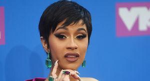 Cardi B at VMAs and Shades Nicki Minaj and Eats McDonalds Post Show