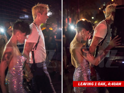 G-Eazy & Halsey Back Together After Leaving VMAs After-Party Holding Hands