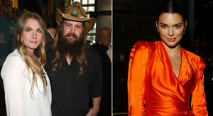 Kendall Jenner Asks Chris Stapleton to 'Call Me' and His Wife Has the Best Response
