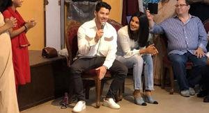 Nick Jonas & Priyanka Chopra Perform at an Indian Orphanage (Video)