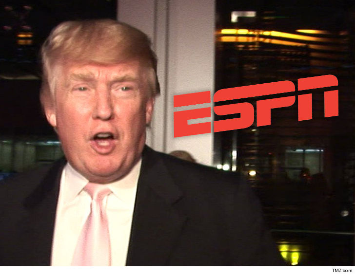 9ff721b0961 Donald Trump is taking his beef with ESPN to the masses -- he s launched a  petition to try and get the
