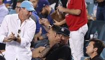 Jon Hamm Rubs Cardinals Win in Jason Bateman's Face at Dodger Game
