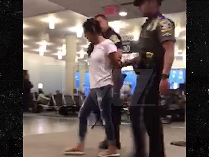 Gretchen Wilson Arrest Video Shows Her In Handcuffs After