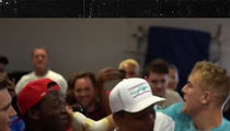 Jake Paul Slaps The Hell Out Of Deji In Pre-Fight Altercation
