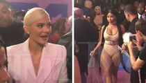Kylie Jenner Tries to Avoid Running Into Nicki Minaj at VMAs